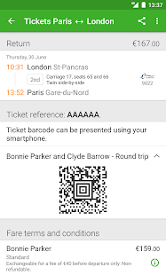 Captain Train: train tickets- screenshot thumbnail