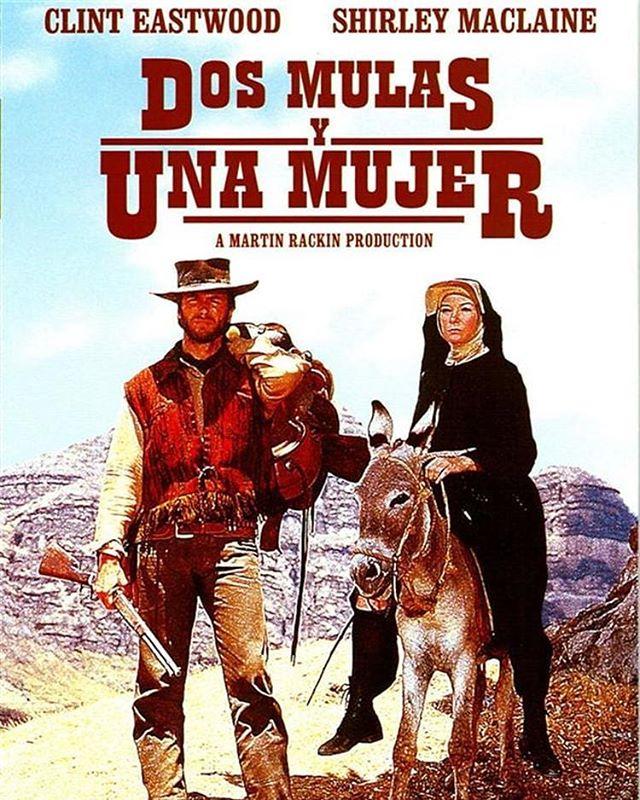 Dos mulas y una mujer (1970, Don Siegel)