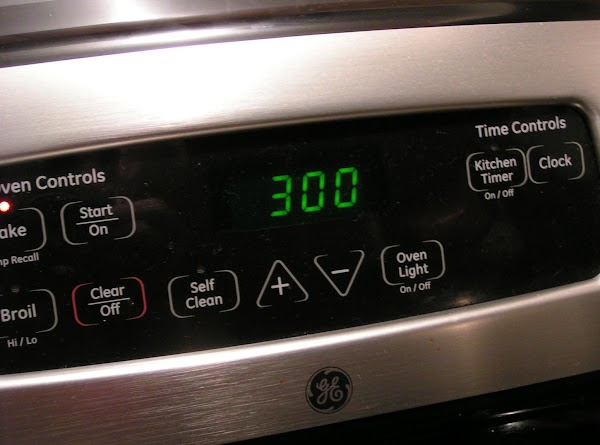 Preheat oven to 300 degrees. Grease a 9 X 13-inch baking dish; set aside.