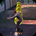 Skater Action Boy 3D icon