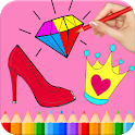 Beauty Coloring Book - Fashion Coloring Pages icon