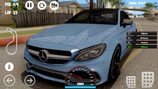 Car Racing Mercedes - Benz Game 1.0 screenshots 2