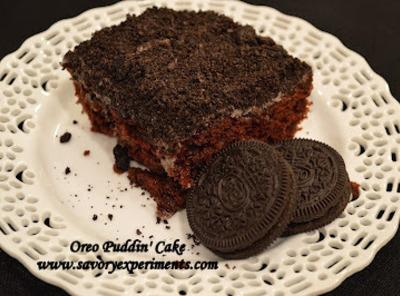Oreo Pudding Poke Cake Recipe