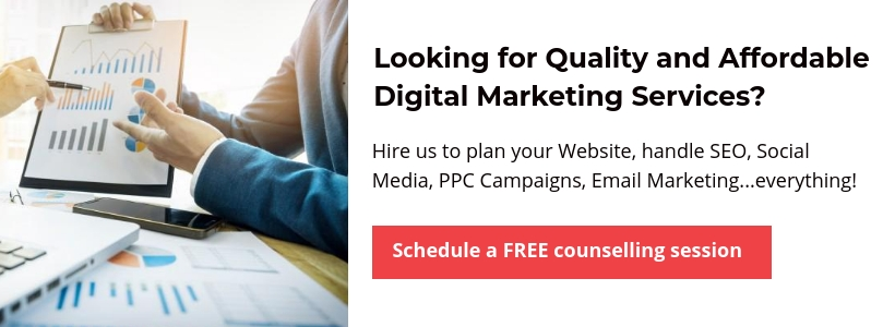 Hire us for Quality and Affordable Digital Marketing Services