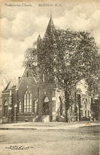 Photo: Postmark 1909 - This was the 2nd building to house the Monroe First Presbyterian Church, which was built in 1901, and was used until a new structure was built in 1968.