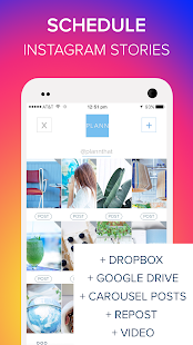 Plann: Preview, Analytics + Schedule for Instagram Screenshot