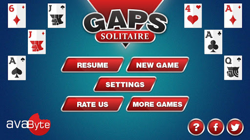 Gaps Solitaire 1.8 screenshots 1