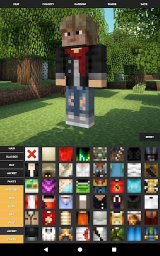 Custom Skin Creator For Minecraft  screenshots 9