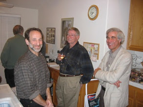 Photo: Professors Steve Frank, Richard Palais, and Mark Machina
