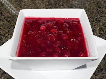 Crock Pot Cranberry Sauce