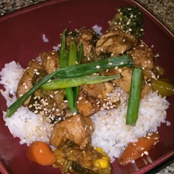 Chicken Veggie Stir Fry Recipe