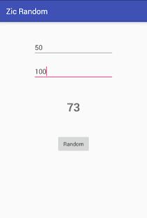 Zic Random - náhled