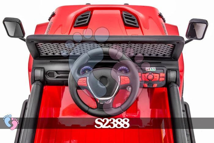 Ô tô điện địa hình S2388 4 động cơ, bánh cao su 16