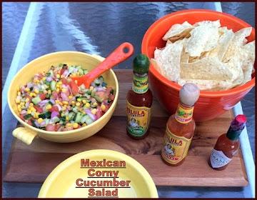 Mexican Corny Cucumber Salad Recipe