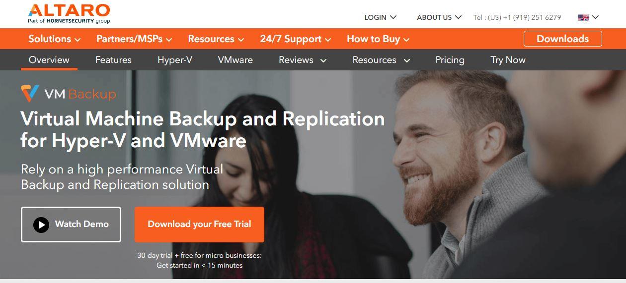 Altaro Windows Server Backup Software