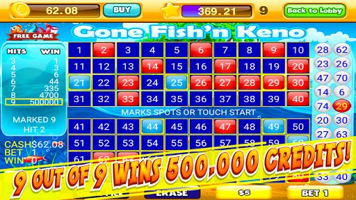 Keno Numbers Free Keno Games 2.0 screenshots 1