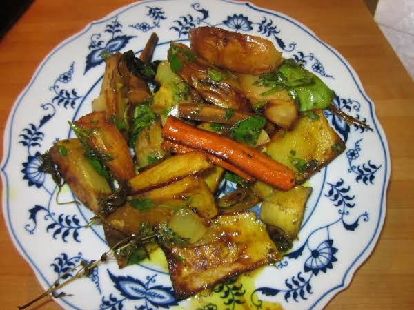 Roasted Potato And Vegetable Salad Recipe