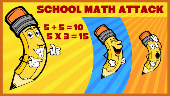 School Math Attack - náhled