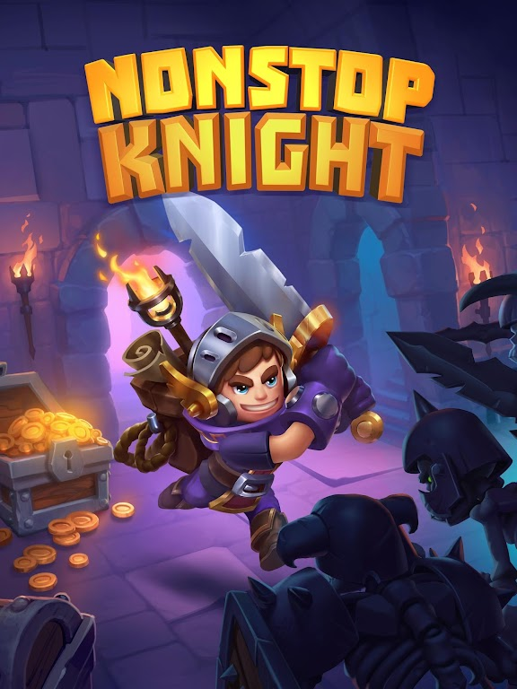 Nonstop Knight - Offline Idle RPG Clicker  poster 10
