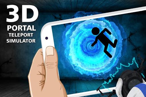 3d Portal teleport simulator