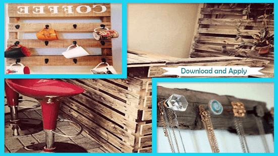 Creative Pallet Ideas for Home Decor - náhled