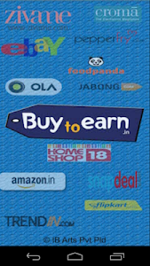 BuyToEarn : Deals and Coupons screenshot 0