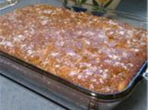 Chipped Apple Cake