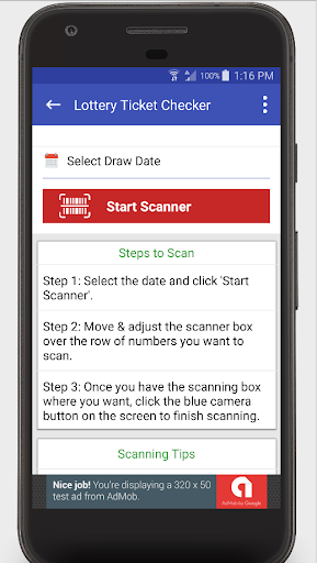 Lottery Ticket Scanner - North Carolina Checker for PC
