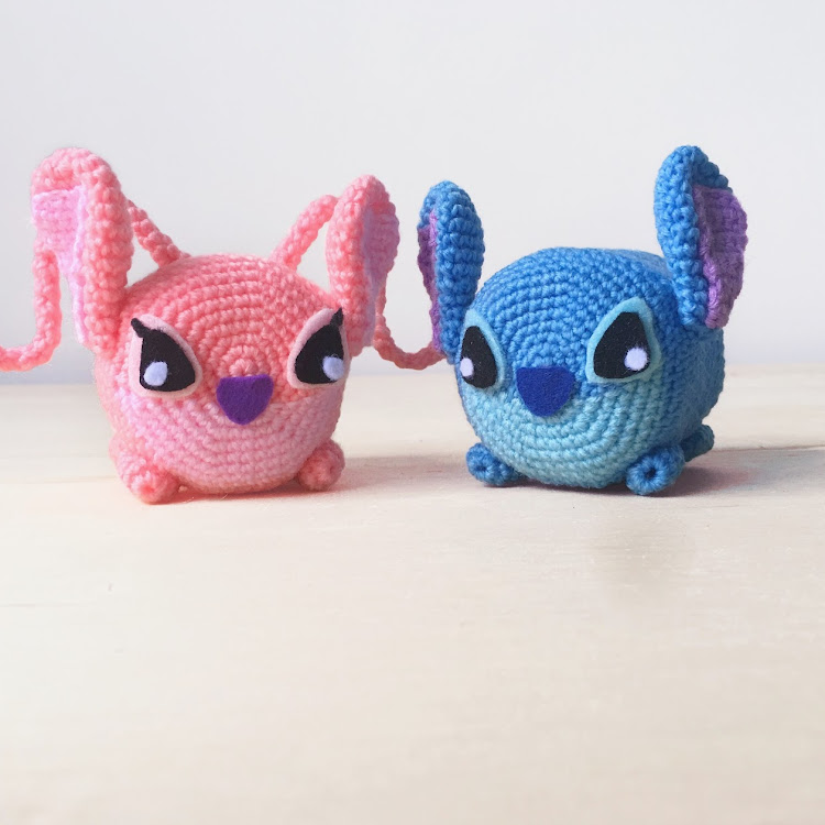 Crochet Tsumtsum Stitch/ Angel by Ricincraft