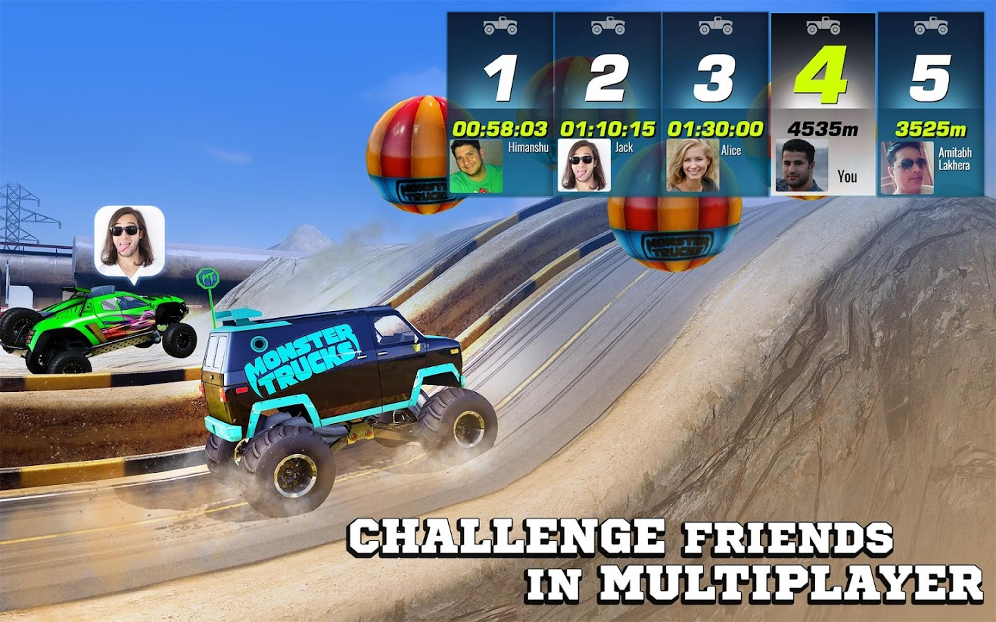 Monster Trucks Racing Android Apps On Google Play