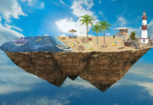 Fantasy Floating Farm Escape 2 1.0.2 APK MOD screenshots 2