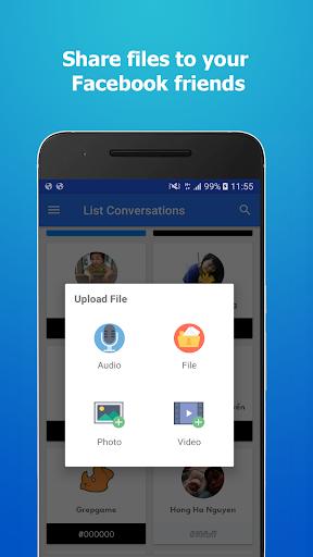 Messenger File Transfer 2.3 screenshots 1