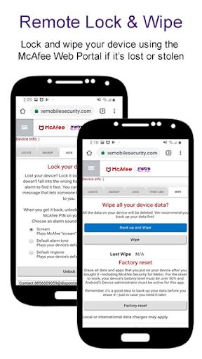 McAfee® Security for Metro® screenshot 6