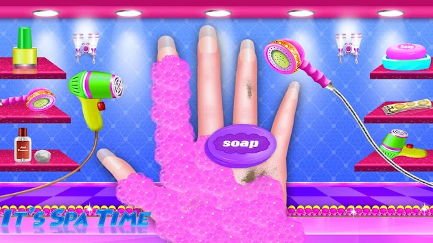 Download Nail Art Fashion Salon Girls Games Apk Latest Version Game