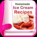 Homemade Ice Cream Recipes for Desserts Cake icon