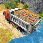 Offroad Fruit Transport Truck City Drive Simulator