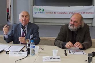 Photo: Conférence n°1 « La tradition républicaine de la laïcité » par : Antoine Prost, professeur émérite d'histoire sociale à l'université de Paris 1 Panthéon-Sorbonne