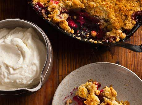 I Did Not Have A Photo Of My Own Crumble.  This Photo Is Courtesy Of Yummly And Epicurious  | April 2013 By Daniel Humm And Will Guidara