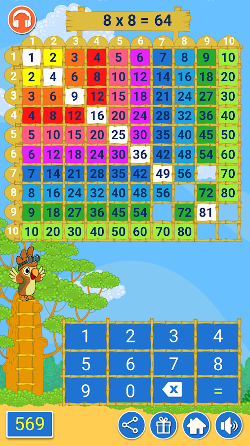 Multiplication Games for kids- screenshot