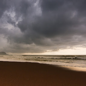 Jaco Rain by James Woodward - Landscapes Cloud Formations ( jaco, beach, costa rica, clouds, tokina )