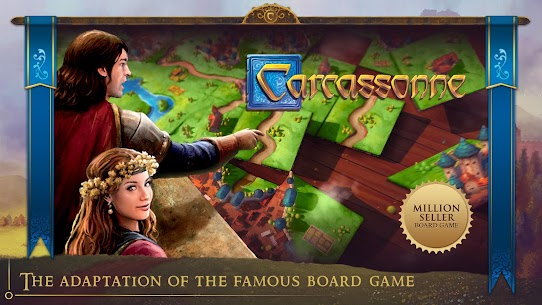 Carcassonne: Official Board Game -Tiles & Tactics 1