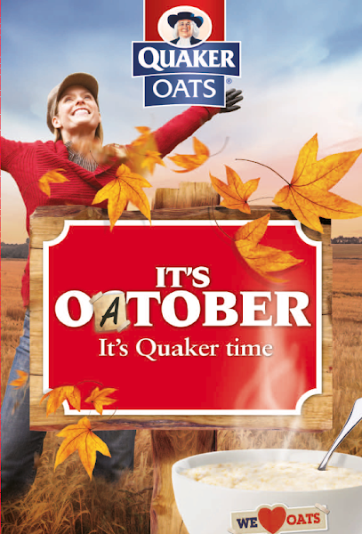 Photo: STANDOUT strategic instore creative for Quaker Oats 'Oatober' campaign