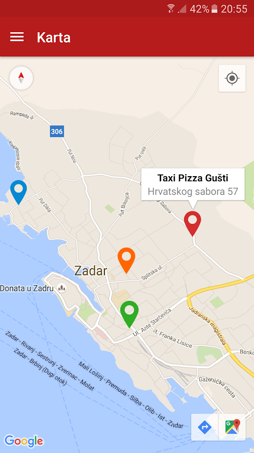 Pizzeria Gušti- screenshot