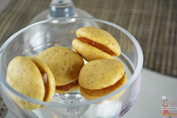 Mini Whoppie Pies with Rose Confit Recipe