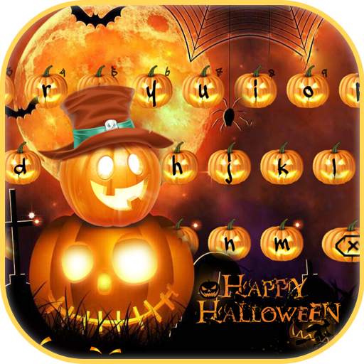 Happy Halloween Keyboard Theme 2017