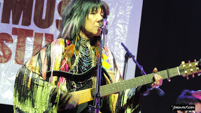 Photo: Yet another living legend: Buffy Saint-Marie