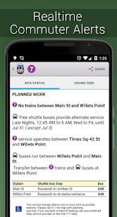 NYC Subway Real Time - screenshot thumbnail