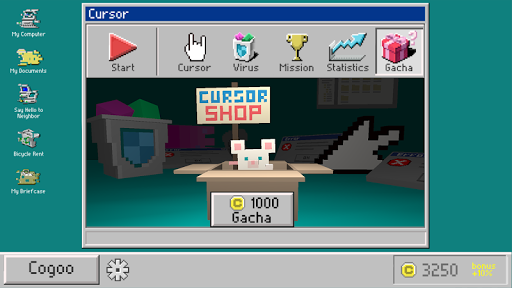 Cursor The Virus Hunter (3D) - screenshot
