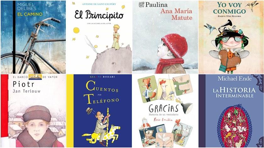 Selección de los libros que marcaron o recomiendan leer las personas consultadas.