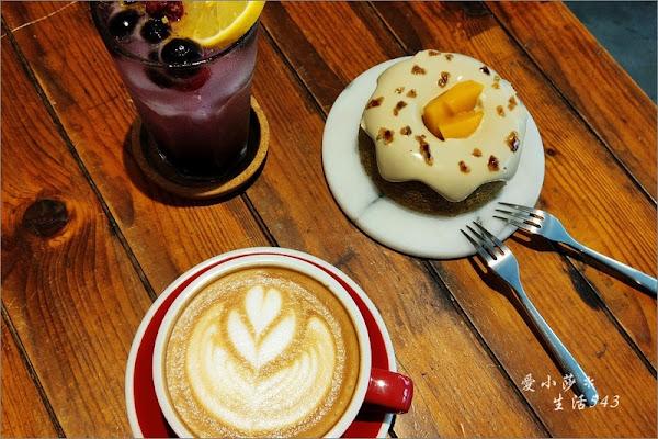 Meller墨樂咖啡@被乾燥花圍繞的優雅下午茶,戚風蛋糕可愛又好吃,千萬別錯過!
